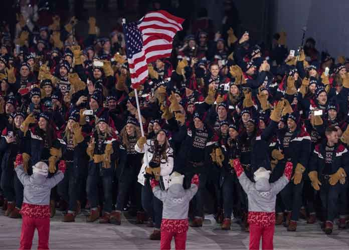 Olympics 2018: Drones Light Up PyeongChang Opening Ceremony, K-Pop Plays As Team USA Marches In [VIDEO]