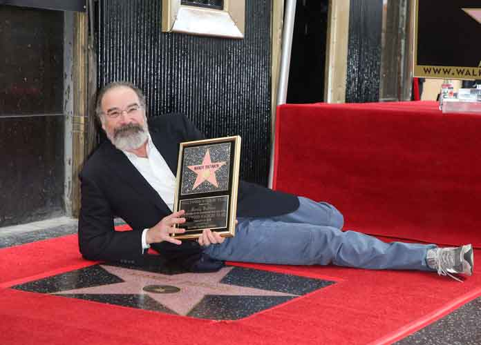 Mandy Patinkin Gets Comfy With His Star On The Hollywood Walk Of Fame