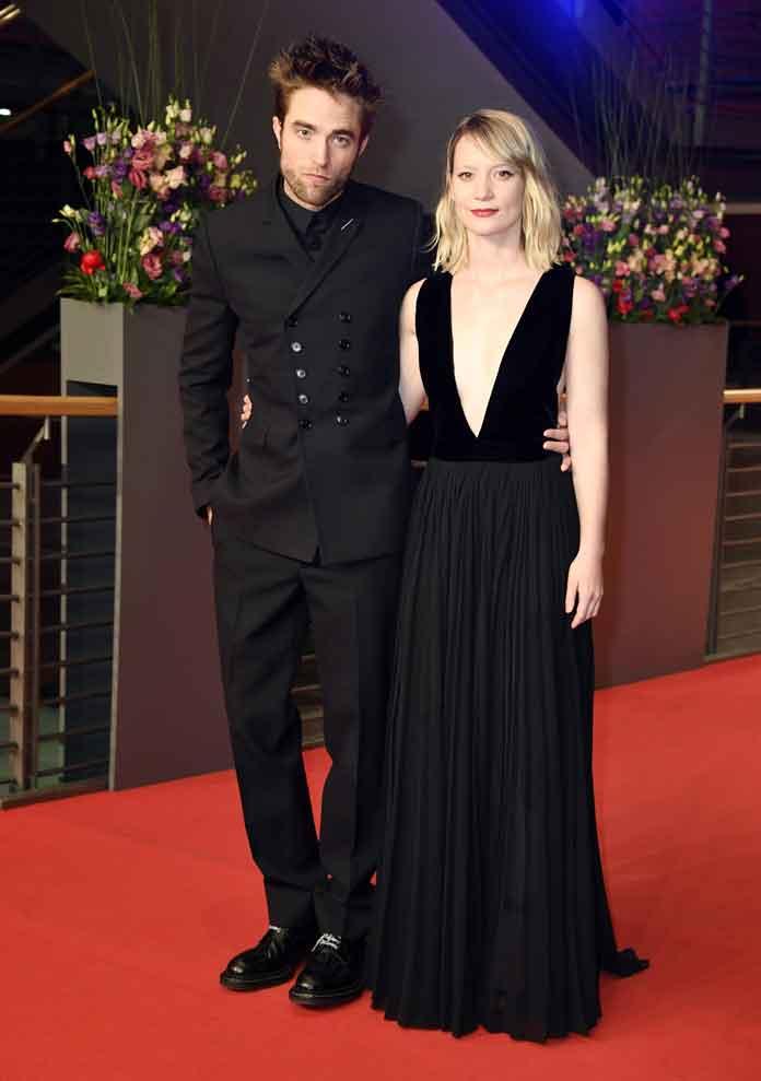 Robert Pattinson & Mia Wasikowska Attend Berlin Film Festival For 'Damsel' Premiere
