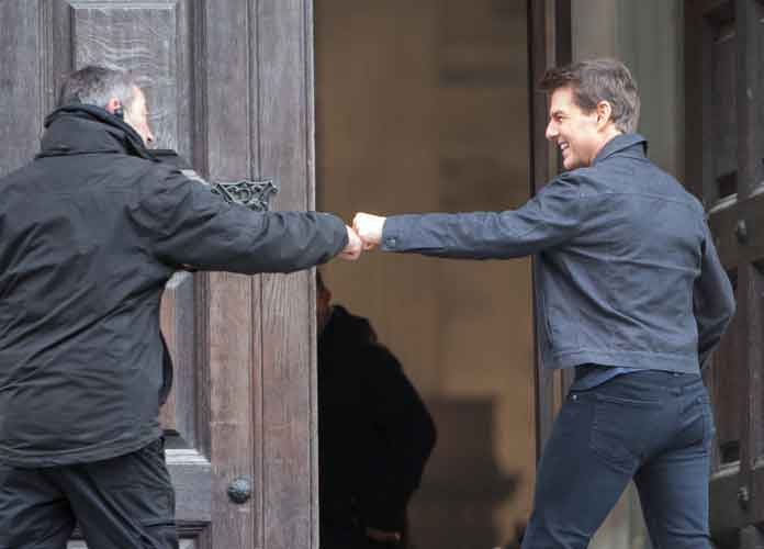 Tom Cruise Works On Set Of 'Mission: Impossible – Fallout' At St. Paul's Cathedral