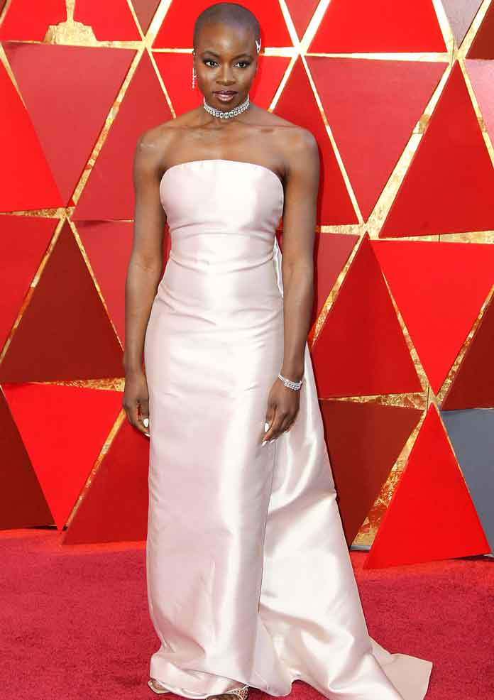 Danai Gurira Makes A Statement With Her Oscars 2018 Hairstyle