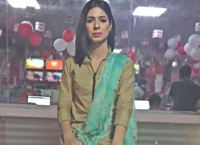 Pakistan TV Airs Broadcast With First Transgender Anchor Marvia Malik
