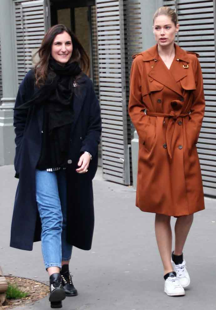 Get The Look For Less: Doutzen Kroes's Oversized Trench Coat