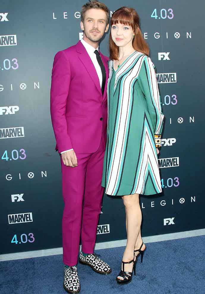 Dan & Susie Stevens Dress In Paul Smith For 'Legion' Season Two Premiere