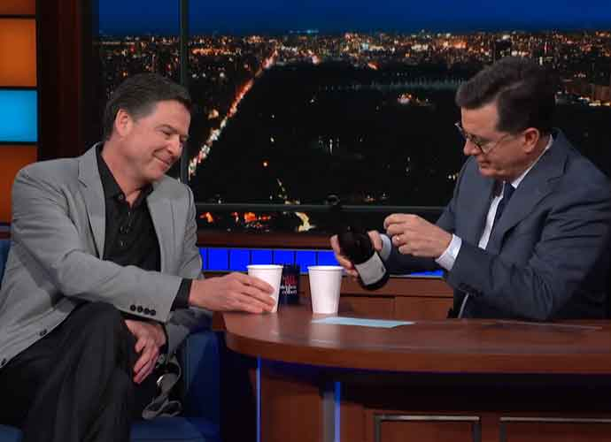 "Comey On Trump On 'The Late Show With Stephen Colbert': ""I'm The Breakup He Can't Get Over!"" [VIDEO]"