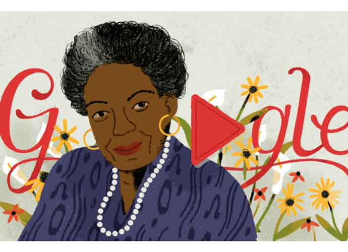 Google Honors Dr. Maya Angelou With A Google Doodle On Her Birthday