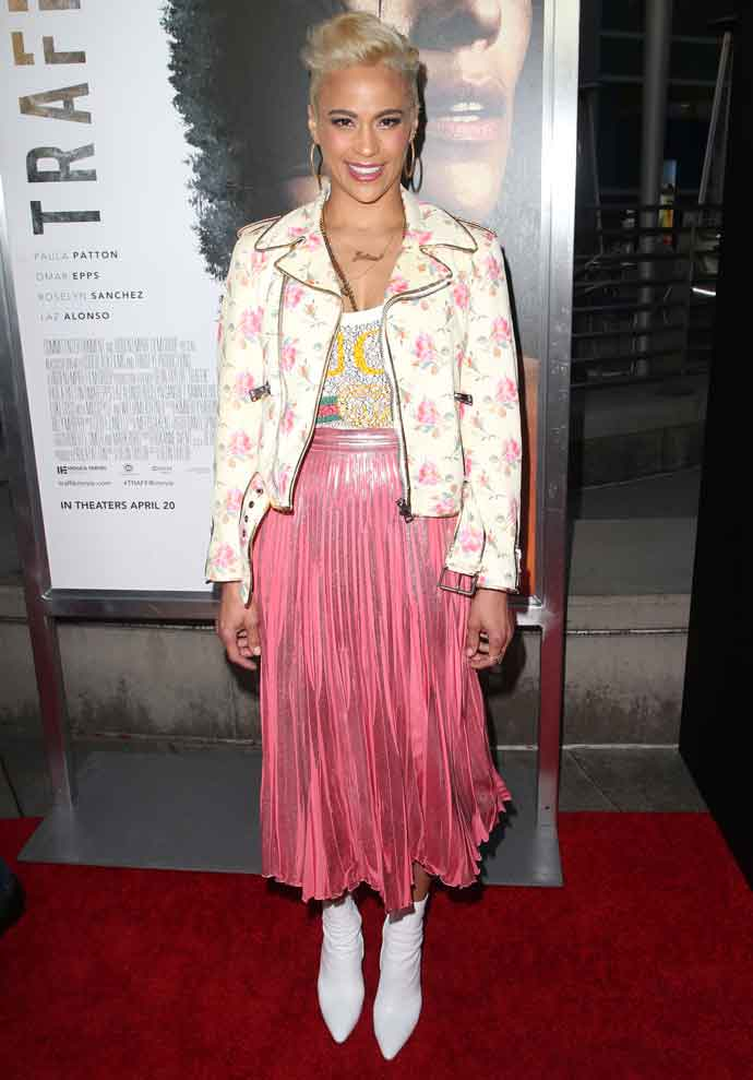 Get The Look For Less: Paula Patton At The Los Angeles Premiere Of 'Traffik'