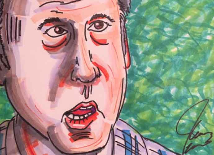 Jim Carrey Paints Terrifying Portraits Of Michael Cohen