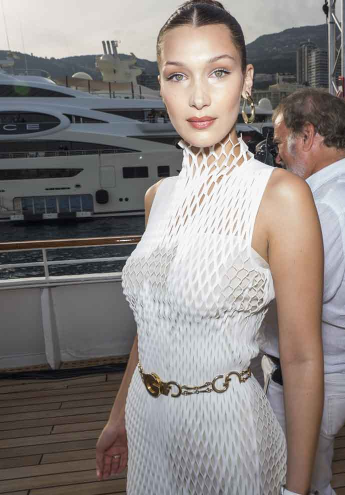 Get The Look For Less: Bella Hadid Attending The TAG Heuer's White Party