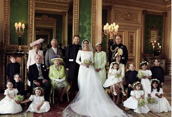 The Royal Wedding Portrait, Like Wedding Itself, Quietly Bucks Tradition [PHOTOS]