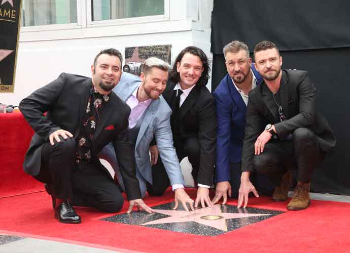 *NSYNC Reunite To Receive Their Star On The Hollywood Walk Of Fame