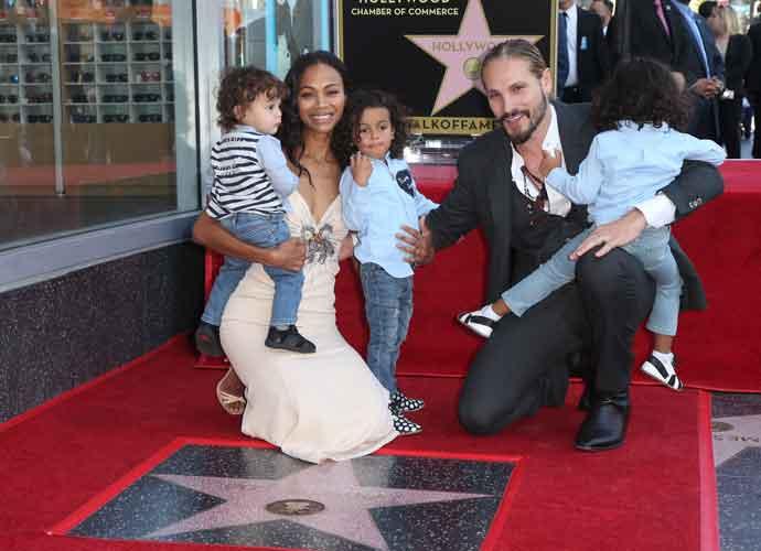 zoe saldana husband and kids