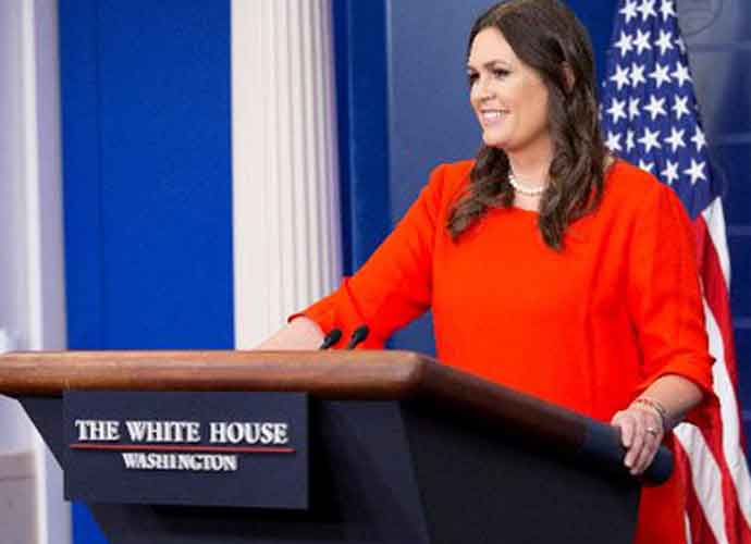 Sarah Sanders Reveals Trump Told Her To 'Take One For The Team' After Kim Jong-Un Flirted With Her
