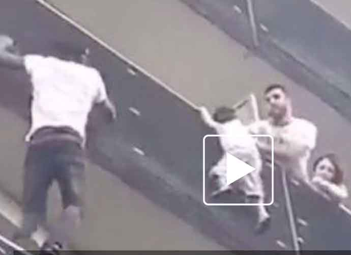 "Mamoudou Gassama Dubbed ""French Spider-Man"" After He Rescues Child Hanging Off Balcony [VIDEO]"