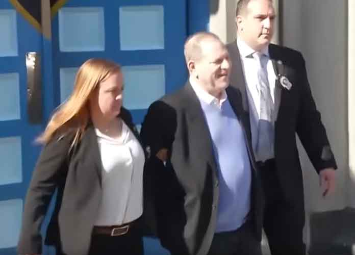Harvey Weinstein Surrenders To NYPD, Charged With Rape & Sexual Abuse [VIDEO]