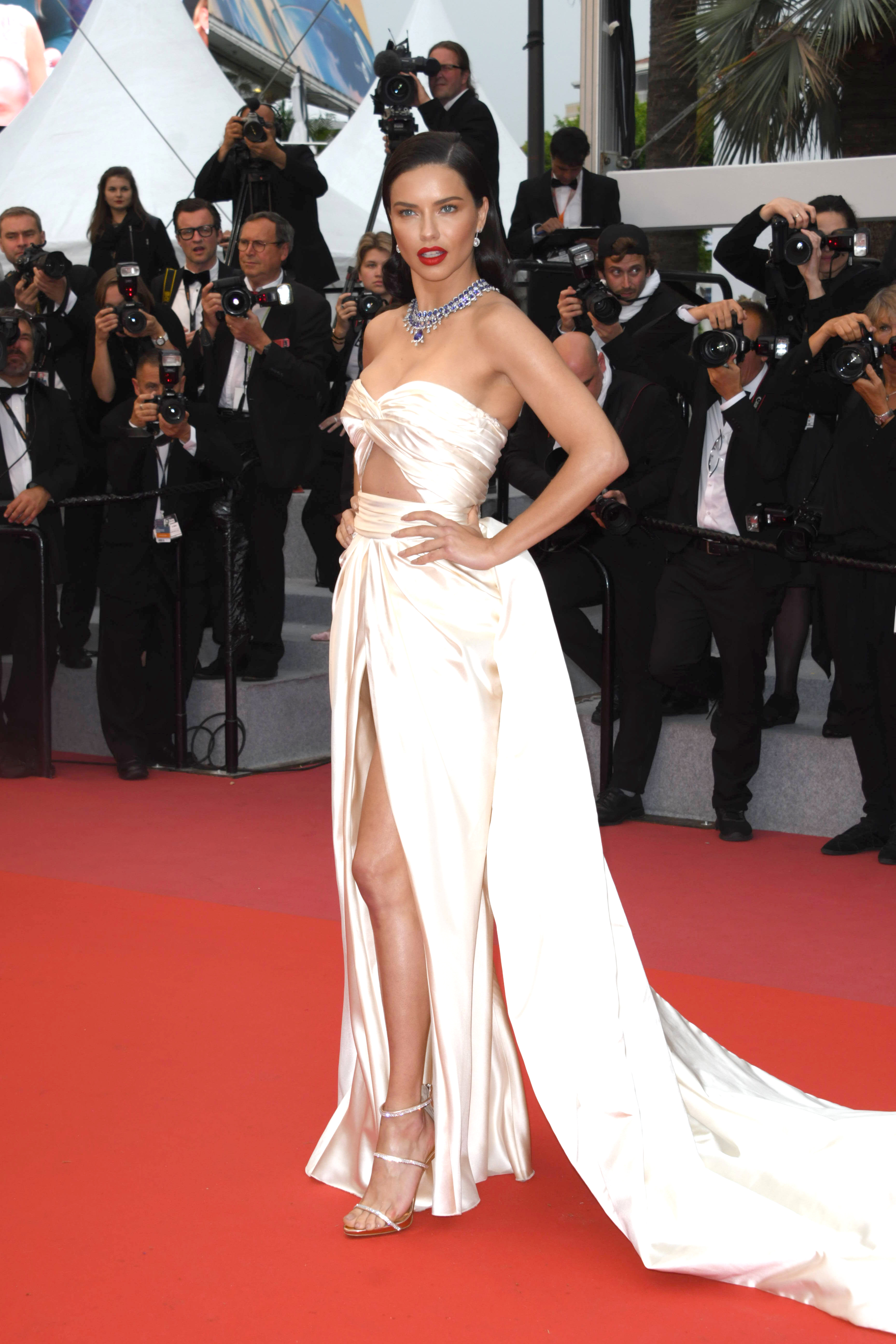 Get The Look For Less: Adriana Lima At The Cannes Film Festival