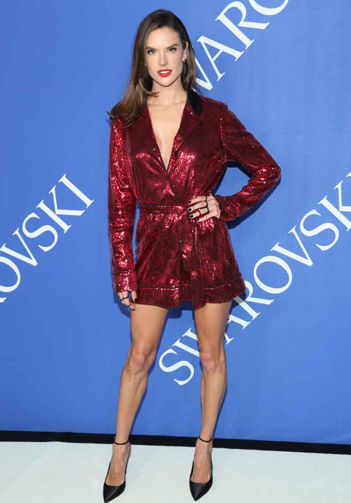 Get The Look For Less: Alessandra Ambrosio At The 2018 CFDA Fashion Awards