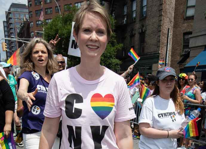 Cynthia Nixon Jabs At Andrew Cuomo After His Emmy Award Was Revoked