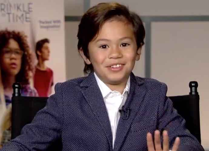 """'A Wrinkle In Time' Co-Star Deric McCabe Tells Fellow Child Actors To """"Keep The Faith"""" [VIDEO EXCLUSIVE]"""