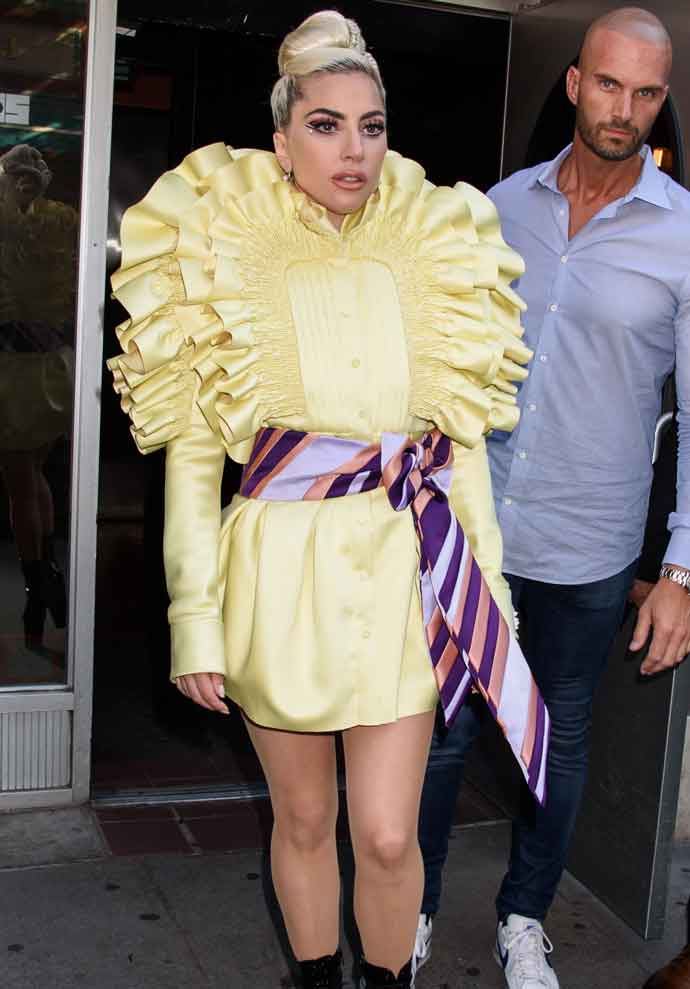 Get The Look For Less: Lady Gaga's Recording Studio Look