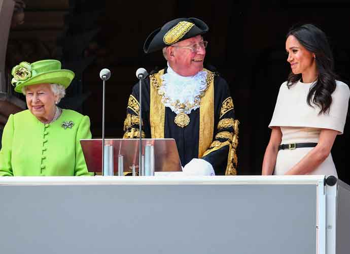 Meghan Markle & Queen Elizabeth Make First Appearance Together Since Royal Wedding