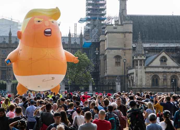 Protestors & 'Baby Trump' Blimp To Follow Donald Trump Everywhere During U.K. Visit