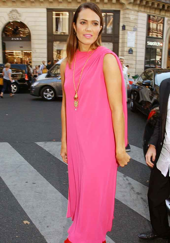 Get The Look For Less: Mandy Moore Paris Haute Couture Fashion Week