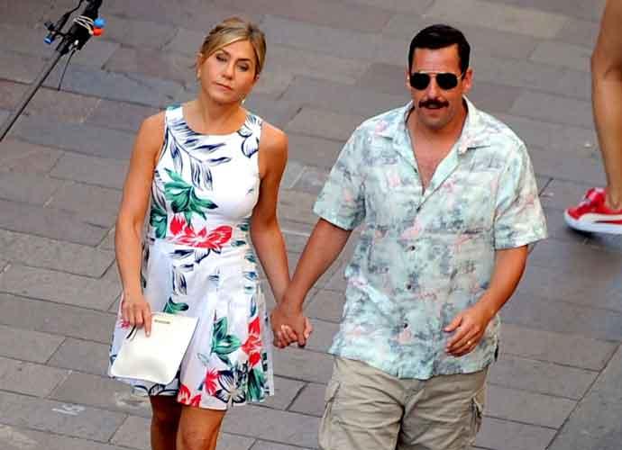 Jennifer Aniston & Adam Sandler Are Filming In Milan