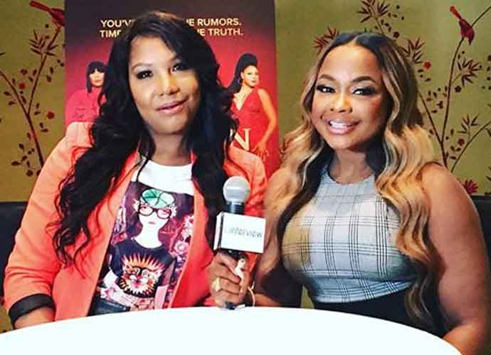 Traci Braxton & Phaedra Parks On 'Braxton Family Values,' Getting Cut From Toni's Tour, Herding Cattle [VIDEO EXCLUSIVE]