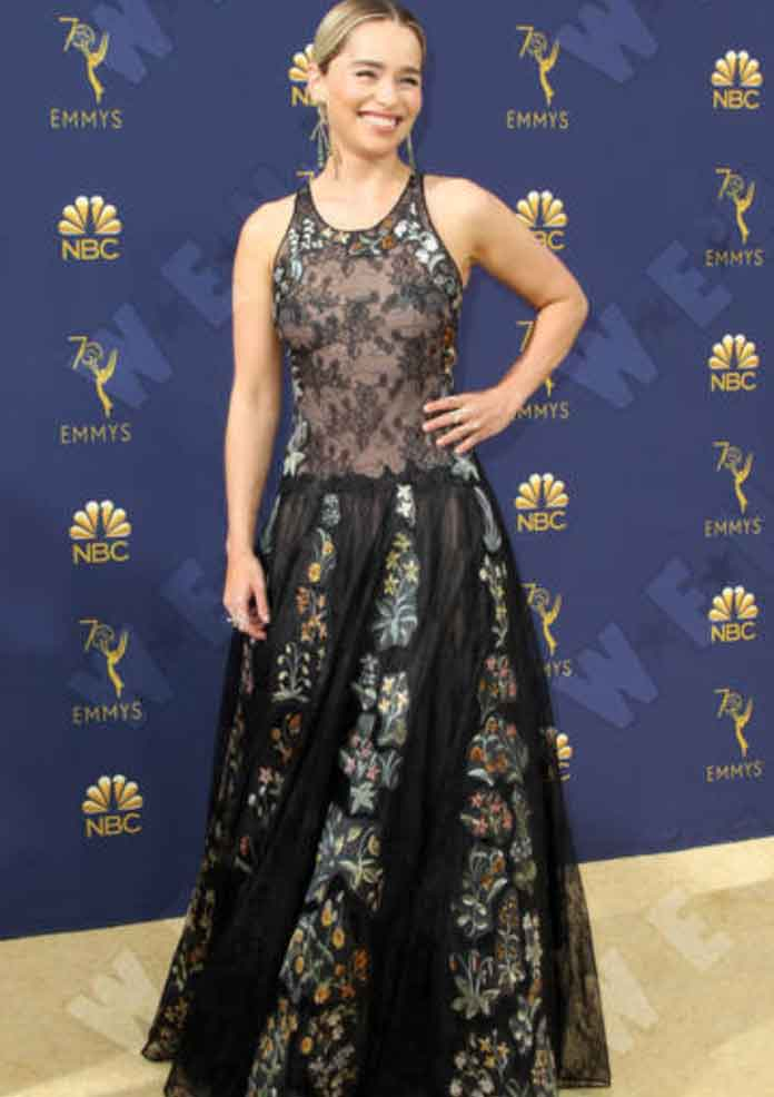 Emilia Clarke, Millie Bobby Brown & Other Stars Dress To Impress At 2018 Emmy Awards: [PHOTOS]