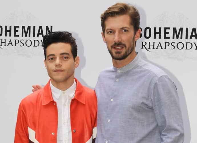 Rami Malek & Gwilym Lee Attend 'Bohemian Rhapsody' Photocall