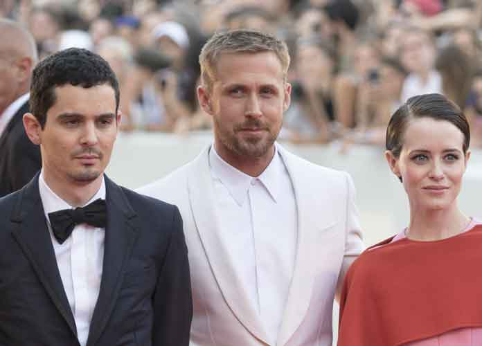 Ryan Gosling Wears Gucci For 'First Man' Premiere At Venice Film Festival [PHOTO]