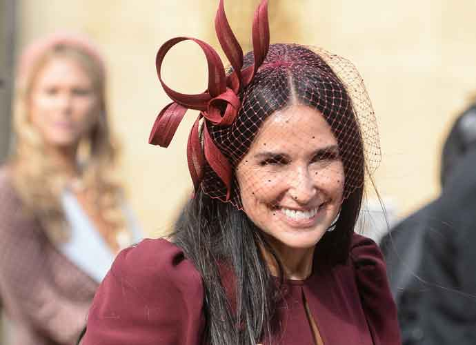 Demi Moore Makes Instagram Debut After Attending Princess Eugenie's Wedding