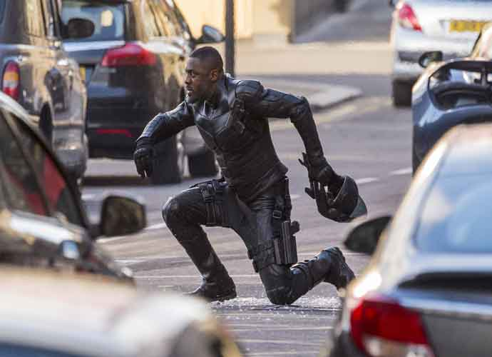 Idris Elba Films In Costume For 'Fast And Furious' Spin-Off 'Hobbs Vs Shaw' In Glasgow
