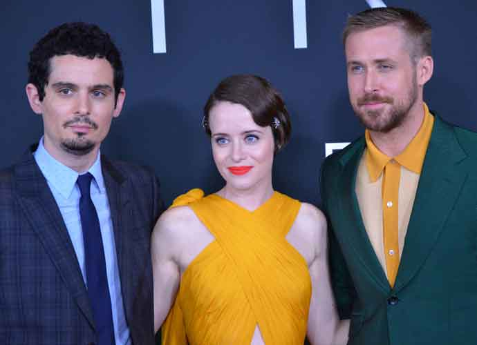 Damien Chazelle, Claire Foy & Ryan Gosling Attend Premiere Of 'First Man'