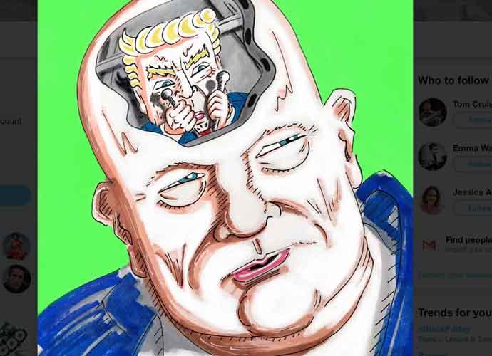Jim Carrey Mocks Donald Trump As 'Baby On Board' Acting Attorney General Matt Whitaker's Brain
