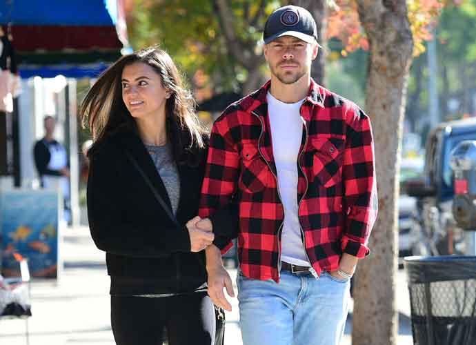 Derek Hough & Girlfriend Hayley Erbert Spotted Having A Breakfast Date