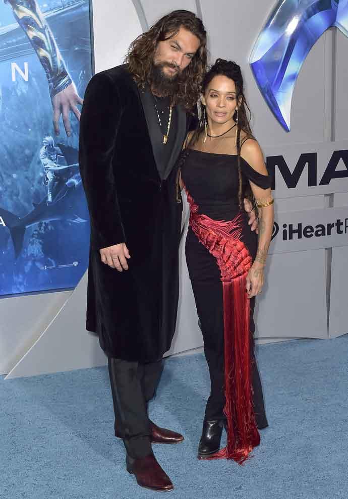 Jason Momoa & Lisa Bonet Attend The Hollywood Premiere Of 'Aquaman'