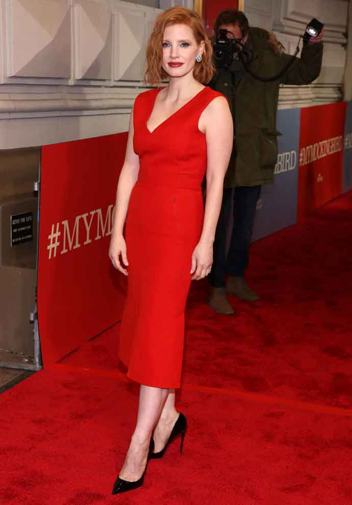 Jessica Chastain Turned Heads At Broadway Premiere Of 'To Kill A Mockingbird'