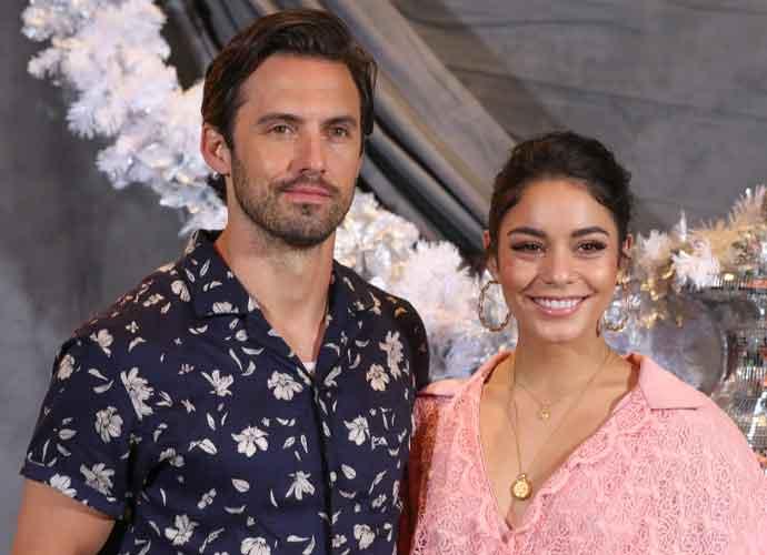 Vanessa Hudgens & Milo Ventimiglia Shine At Photo Call For New Film 'Second Act'