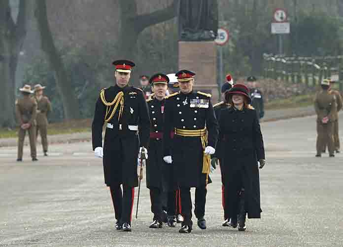 Prince William Attends Sovereign's Parade At Royal Military Academy Sandhurst