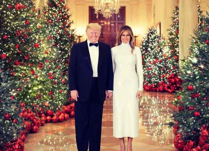 Donald Trump Gets Wife Melania Trump 'Beautiful Card' For Christmas