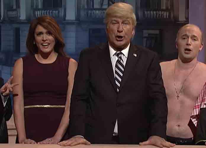 Alec Baldwin Returns As Donald Trump On 'SNL,' Mocks Himself For Parking Space Arrest [VIDEO]