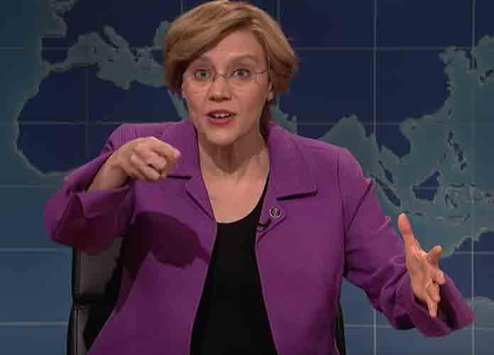 "Kate McKinnon's Elizabeth Warren Calls Herself ""America's Prostate Exam"" On 'SNL'"