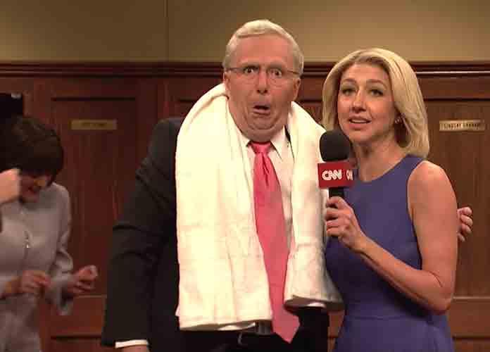 'SNL' Spoofs Senate Republicans' Celebration Of Brett Kavanaugh Confirmation To Supreme Court [VIDEO]