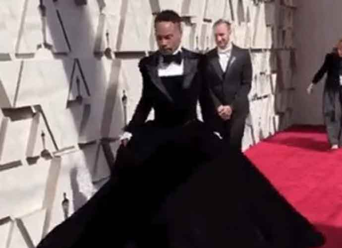 Oscars 2019: Billy Porter's Christian Siriano Tuxedo Dress On The Red Carpet Sets Social Media Abuzz