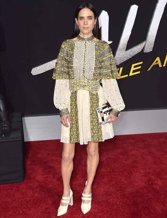Jennifer Connelly Attends 'Alita: Battle Angel' Los Angeles Premiere