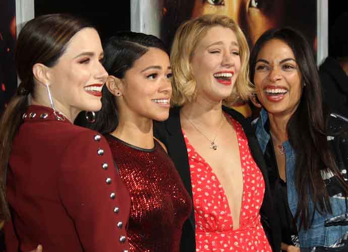Sophia Bush, Gina Rodriguez, Yael Grobglas & Rosasio Dawson Stun At Miss Bala Premiere