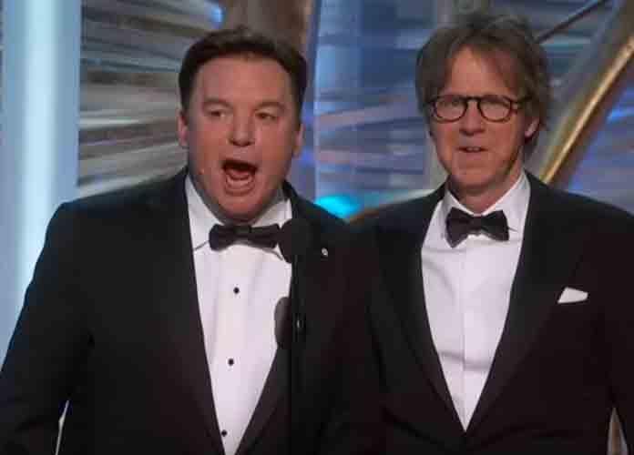 Oscars 2019: Mike Myers & Dana Carvey Hold 'Wayne's World' Reunion While Introducing 'Bohemian Rhapsody' [VIDEO]