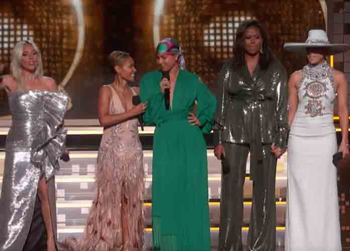Michelle Obama Helps Open Grammy Awards With Emotional Tribute To Music [VIDEO]